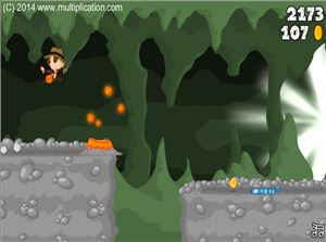 Avoid the Obstacles in Cave Run Multiplication | Multiplication.com