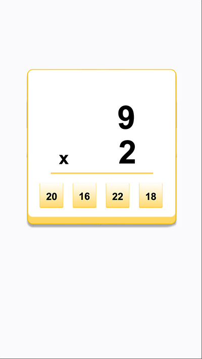 Answer 4 math equations to move forward in Circle Collector Addition | Multiplication.com