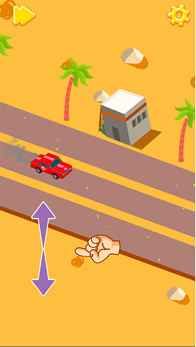 Jump over obstacles in Driver Highway Division | Multiplication.com