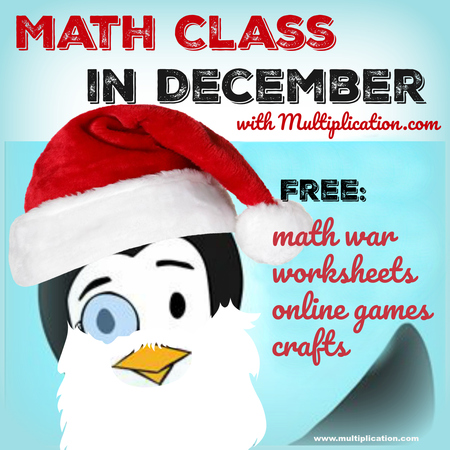 Math Class in December: A collection of math-inspired activities to ...