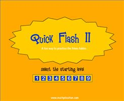 Quick Flash Cards Ii Free Online Flash Cards Multiplicationcom