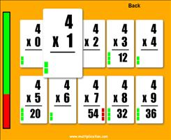 image about Printable Flash Cards Multiplication named Simple Flash Playing cards II - No cost On the internet Flash Playing cards