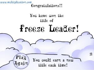 You Won the Snowball Fight | Multiplication.com