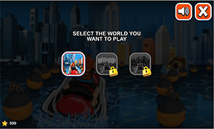 Choose world in Watercraft Rush Subtraction | Multiplication.com