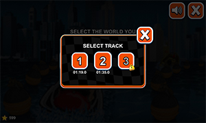 Choose a track in Watercraft Rush Subtraction | Multiplication.com