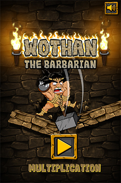 Hit start in Wothan the Barbarian Multiplication | Multiplication.com