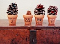 pinecone crafts, easy crafts for kids, creative writing